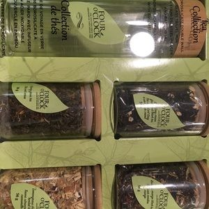 Tea collection and glass tumbler